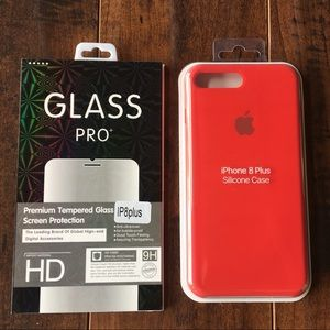 Accessories - Apple Silicone Case for iPhone 7+ / 8+